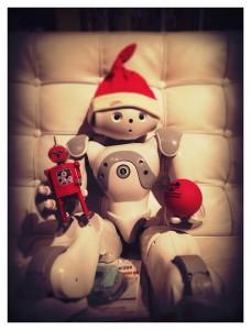 NAO Robot Stanley Qubit Christmas