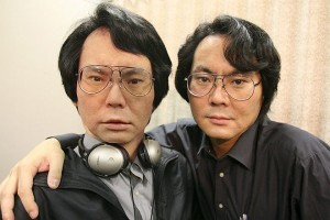 Prof. Ishiguro and his robot double